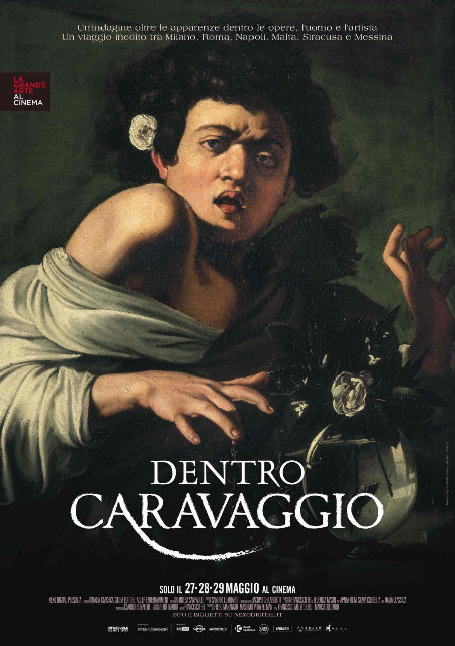 Lo straordinario docu-film Dentro Caravaggio nelle sale solo il 27, 28 e 29 maggio 2019