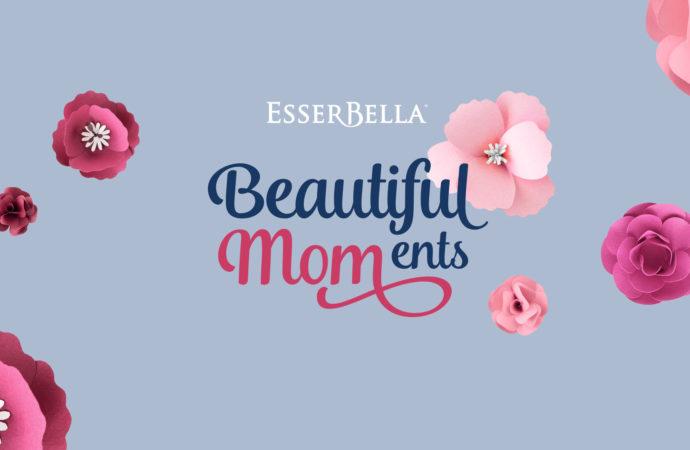 Per la festa della Mamma  EsserBella lancia il nuovo contest online  #BeautifulMOMents