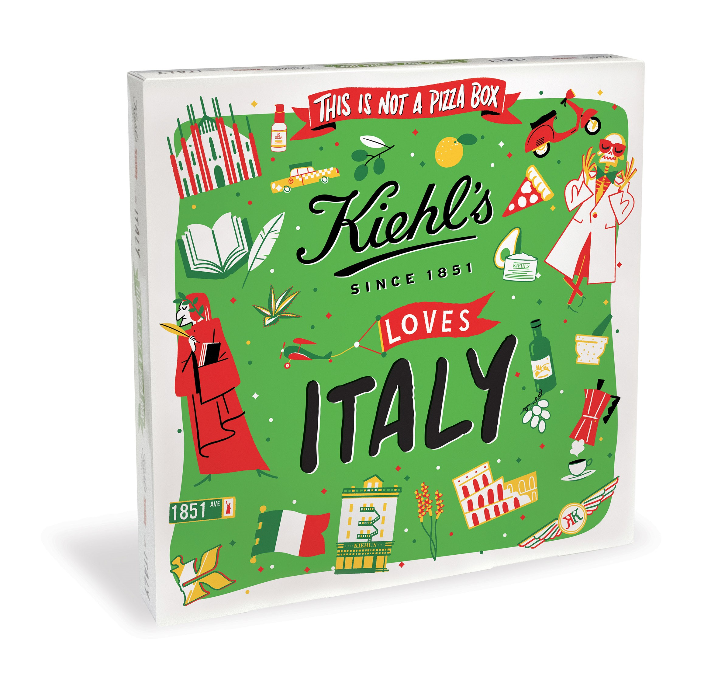 Kiehl's: a Milano primo This is not a Pizza Party