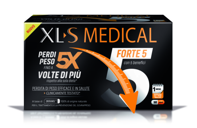 XLS MEDICAL FORTE 5: perdita di peso veloce  e in salute!