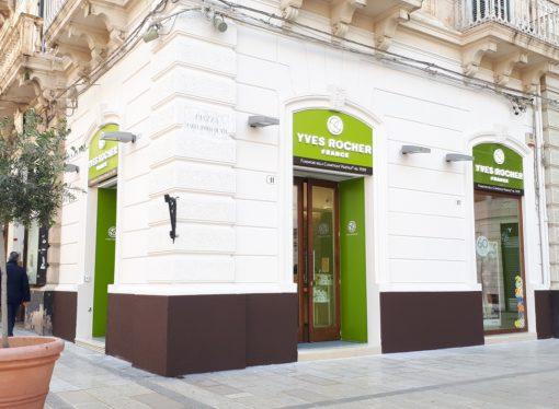 Yves Rocher il 29 maggio inaugura a Roma il suo negozio monomarca nr 100!