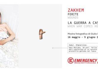 Per il 25° Compleanno di EMERGENCY inaugurata la mostra fotografica 'Zakhem. La guerra a casa'