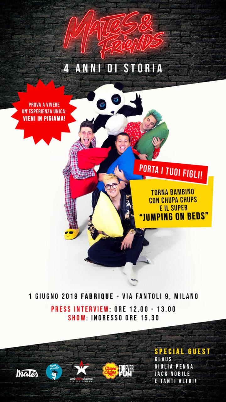 A Milano Chupa Chups, l'evento per celebrare i quattro anni dei Mates