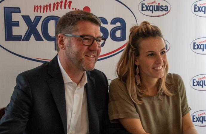 Tania Cagnotto  testimonial di Exquisa!