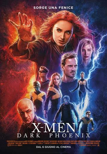 X-MEN: DARKPHOENIX, il nuovo episodio della famosa saga nelle sale dal 6 giugno