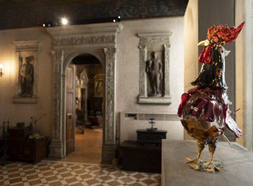 """""""di galli e galline, upupe, civette e altri animali""""al Museo  Bagatti Valsecchi"""