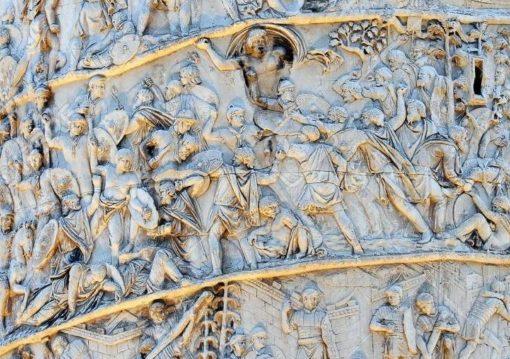 L'affascinante mostra fiorentina sulla Colonna Traiana