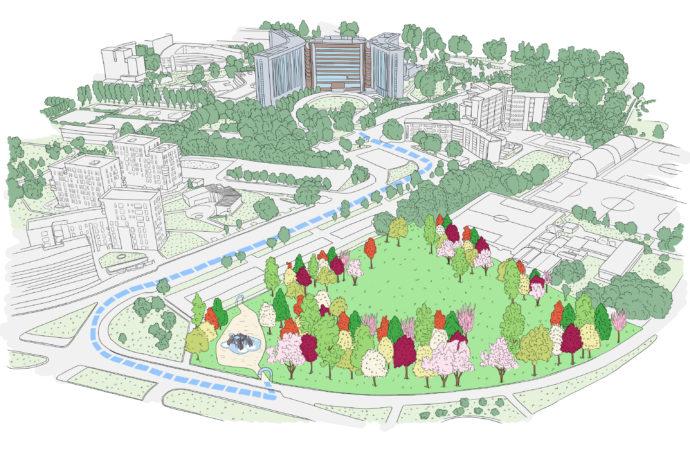 Mellin lancia il suo progetto per piantare 100 alberi a Milano