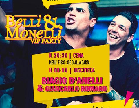 Pelledoca Music Restaurant – Milano: 22/6 Belli e Monelli con Biagio D'Anelli e Giancarlo Romano
