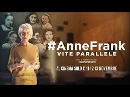 Per i 90 anni dalla  nascita di Anne Frank  nelle sale il docu-film #AnneFrank. Vite parallele
