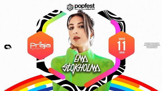 PopFest – Gallipoli (LE), una grande estate: 11/7 Ema Stokholma, 14/7 Daddy's Groove
