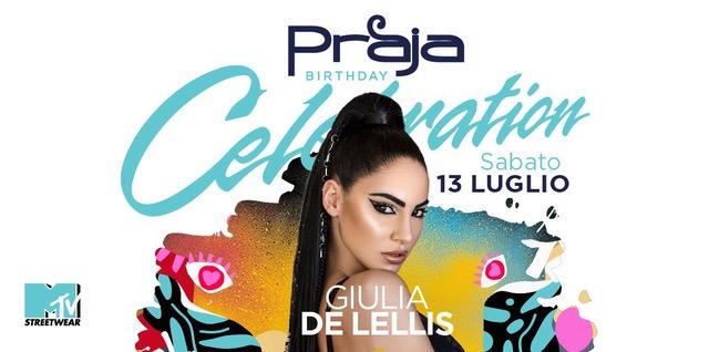Praja – Gallipoli (LE): 11/7 Ema Stokholma (Popfest), 13/7 Giulia De Lellis (Happy Birthday Praja!)