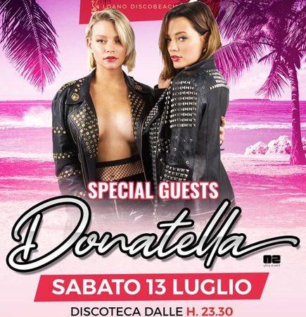 Beefly c/o Ocean Beach Club – Loano (SV) by Golden Group: 11/7 la Mini Italia del Gusto ed il 13/7 Donatella