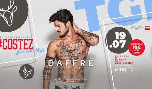 #Costez – Telgate (BG): 19/7 Luca Dafré, 20/7 Besame