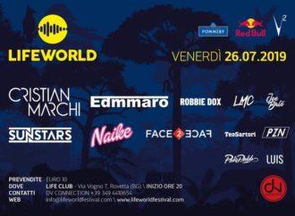 26/7 Lifeworld – Rovetta (BG). Mixano Cristian Marchi, EDMMARO, Sunstars, Dj Naike (…)