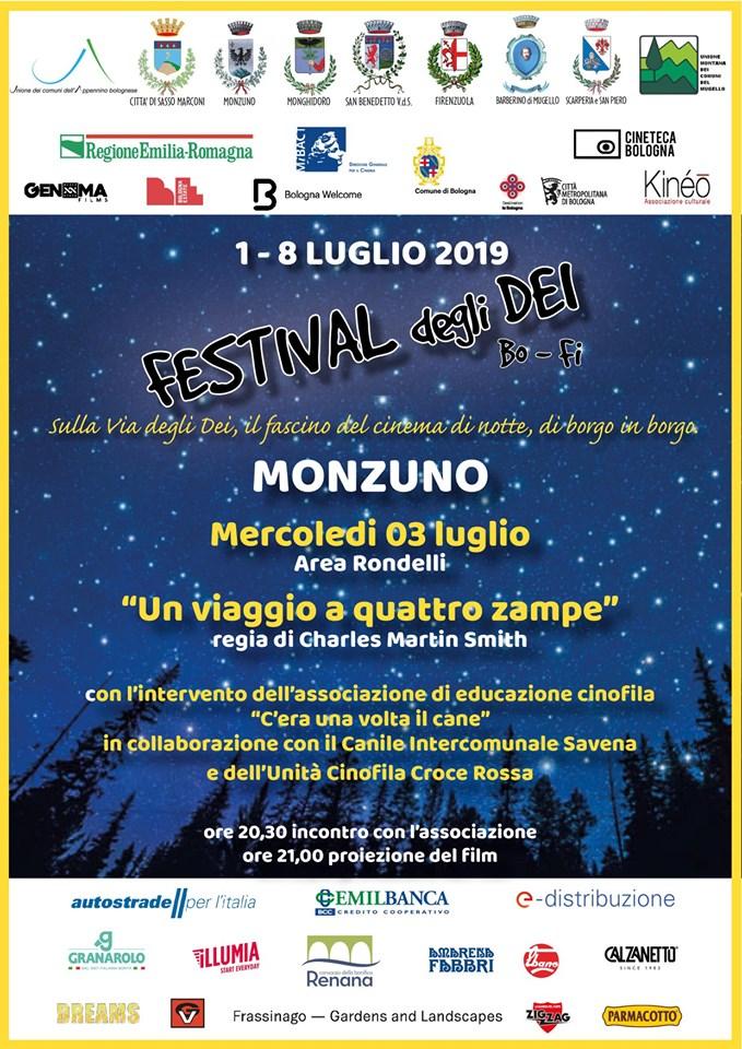 FESTIVAL DEGLI DEI 2019: a Monzuno la terza tappa