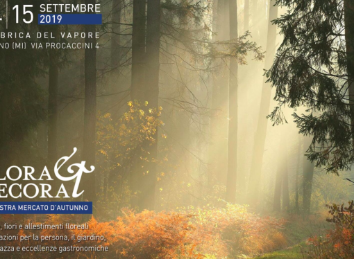 Flora et Decora: versione autunnale a Milano/14 e 15 settembre 2019
