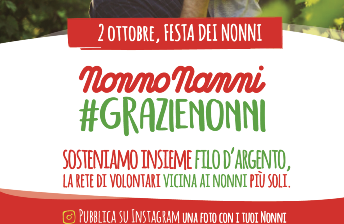 Nonno Nanni lancia un charity contest per la Festa dei Nonni 2019