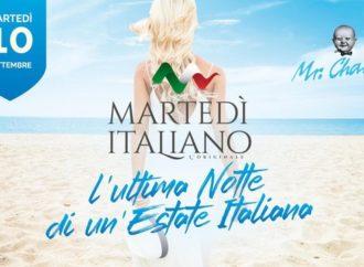 10/9 al Mr.Charlie – Lignano (UD) si va in scena MartedItaliano, l'ultima notte di un'estate italiana