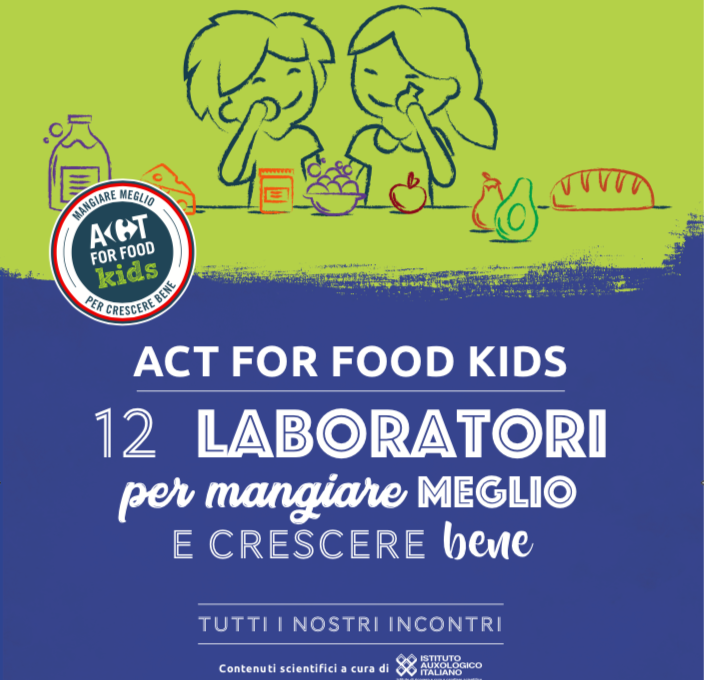 Carrefour Italia e Istituto Auxologico Act for Food Kids lanciano in 13 regioni i laboratori di educazione alimentare