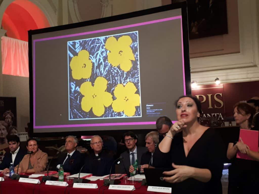 Inaugurata alla Basilica della Pietrasanta a Napoli la mostra di Andy Warhol