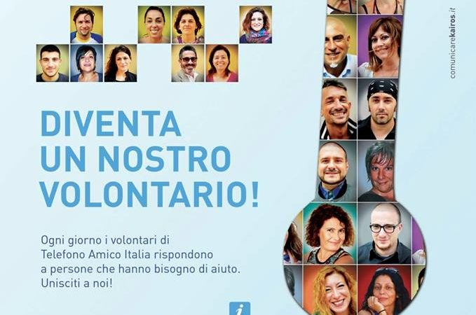Telefono Amico Italia cerca volontari