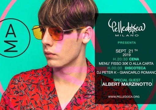 Pelledoca Music & Restaurant Milano, ecco cosa si balla: 14/9 Belli e Monelli, 19/9 Apericomio, 21/9 Opening Party con Albert Marzinotto