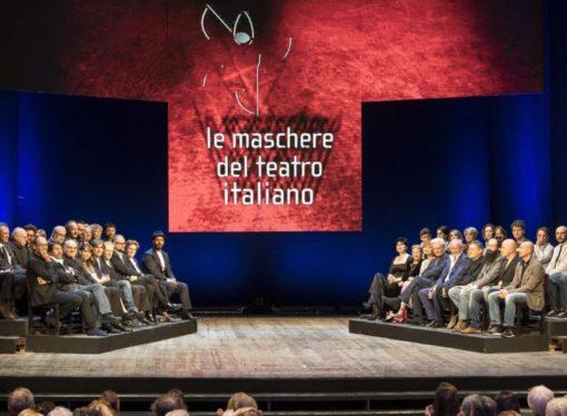 La cerimonia di consegna dei premi Le Maschere del Teatro Italiano 2019