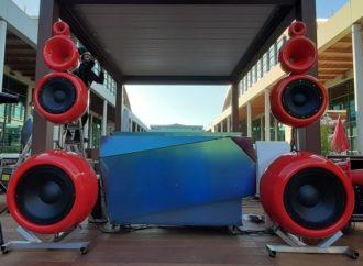 Pequod Acoustics a SIA Hospitality Design (Rimini) assieme a Deluxe Dreaming Milano