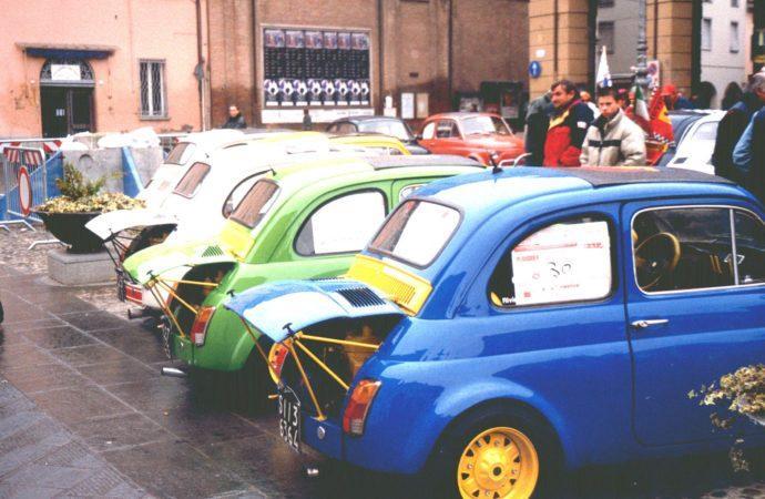 Meeting delle Fiat 500 e derivate a  Bagnacavallo (RA)