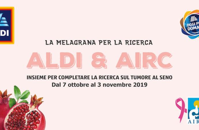 """Aldi lancia l'iniziativa """"La Melagrana per la Ricerca"""""""