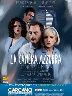 Teatro Carcano: in scena La camera azzurra, dal romanzo di Georges Simenon