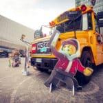 A Milano ritorna lo Schoolbus infestato dai fantasmi LEGO® Hidden Side™