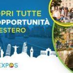EDUEXPOS: a Roma e Milano il salone per l'orientamento per lo studio all'estero