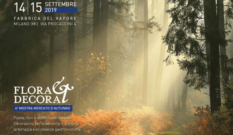 Flora et Decora - prima edizione autunnale a Milano