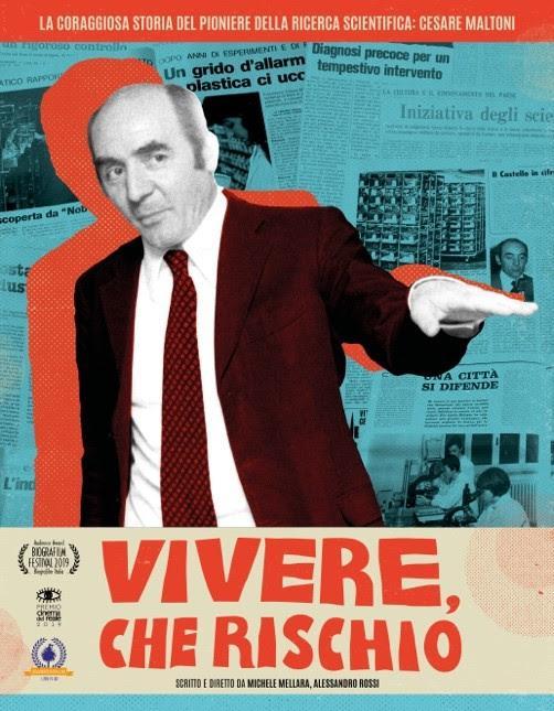 Il Biopic VIVERE, CHE RISCHIO ad ottobre nelle sale