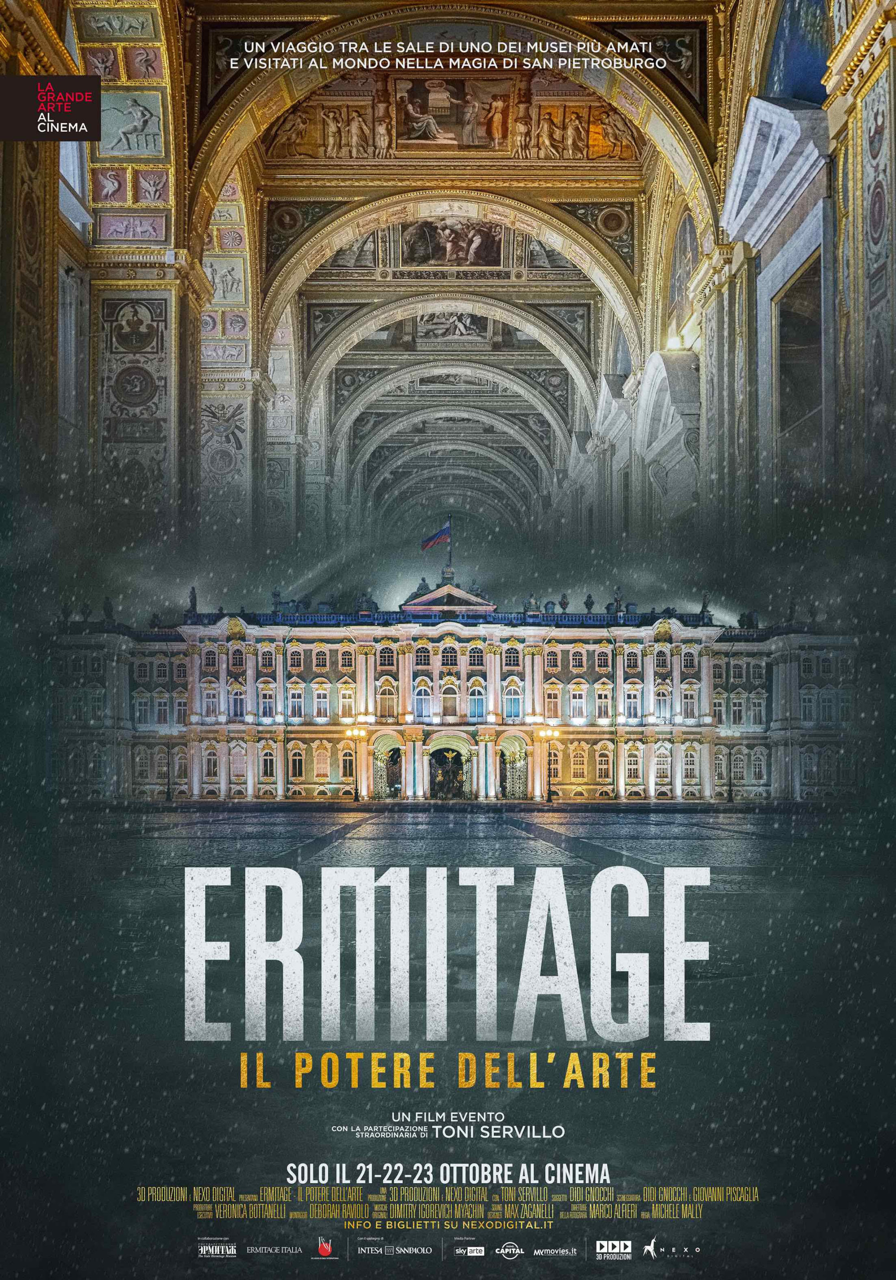 Ermitage. Il Potere dell'Arte al cinema solo il21, 22, 23 ottobre