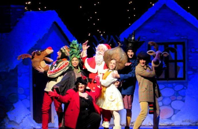 Al Teatro Manzoni di Milanola fiaba natalizia Buon Natale Babbo Natale