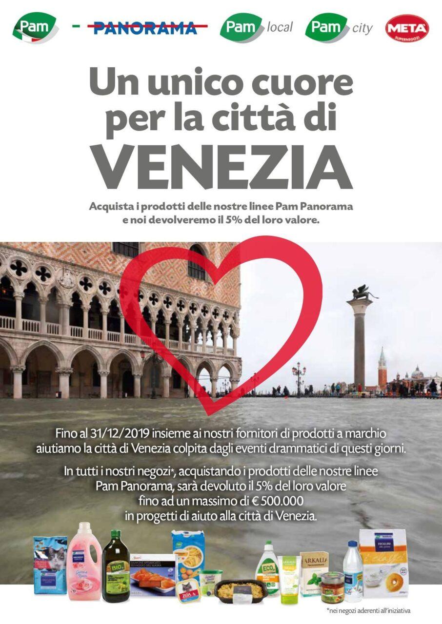 Pam Panorama ha Venezia nel cuore