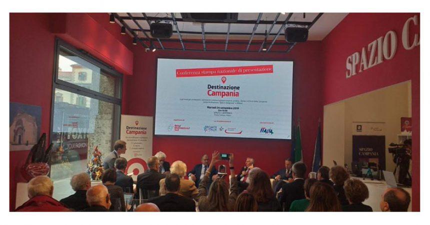 Rete Destinazione Sud: la Campania protagonista a Milano