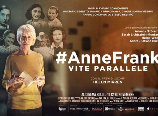 #AnneFrank. Vite parallelesullo schermo con Helen Mirren