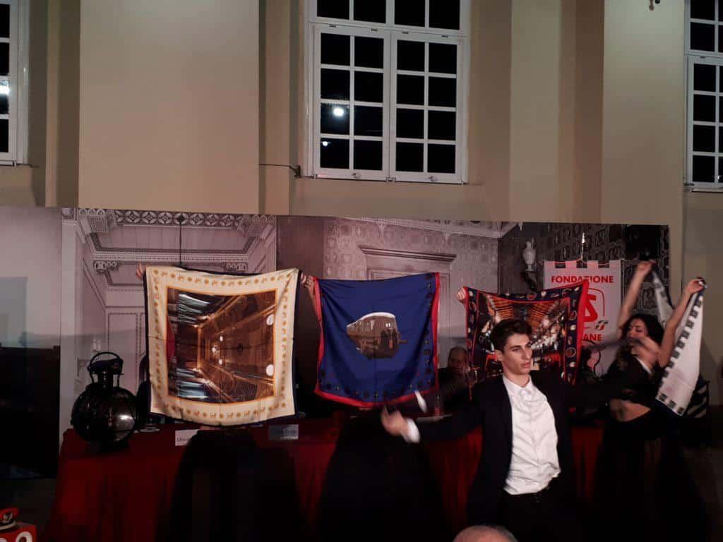 Presentata la nuova collezione esclusiva di foulard e cravatte della Maison Cilento al m