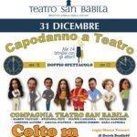 Capodanno al Teatro San Babila con lo spettacolo Colto in flagrante