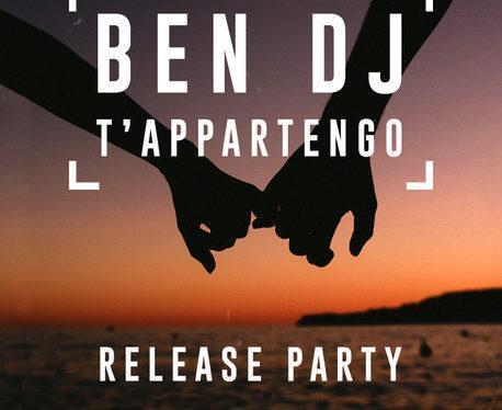 12/12 Ben Dj – T'Appartengo (E2) Official release party @ Cost – Milano