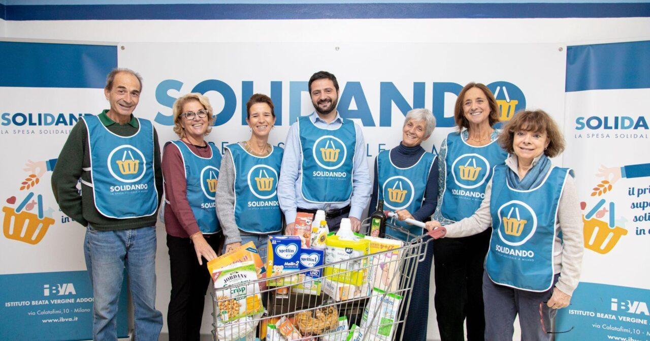 Milano: sfida benefica ed evento per il supermercato della solidarietà