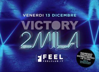 Feel Club, un dicembre memorabile: 13/12 Victory2mila, 14/12 SuperStar 90, 20/12 Vacanze di Natale 2019, 21/12 Crash! SnowPark
