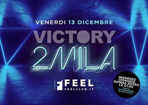 Feel Club, un dicembre memorabile: 13/12 Victory2mila, 14/12 SuperStar 90, 20/12 Vacanze di Natale 2019, 21/12 Crash! SnowPark