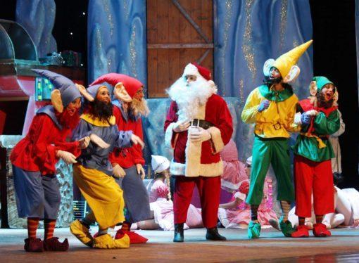 Al Teatro Manzoni Lo spettacolo di Natale con Babbo Natale …  in persona!