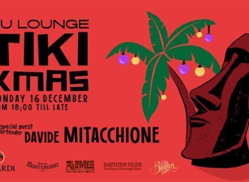 16/12 Tiki XMas @ Nu Lounge Bar – Bologna. Special guest bartender Davide Mitacchione, live music Tropical Swinger