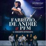 """Il docu-film Fabrizio De André e PFM. Il concerto ritrovato"""" al cinema"""